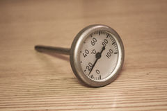 Maritime thermometer. TC-100-100 Royalty Free Stock Photos