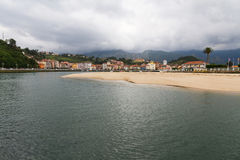 Maritime Town of Ribadesella in Asturias Royalty Free Stock Photos