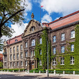 Maritime University of Szczecin Royalty Free Stock Photos