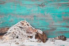 Maritime wood decoration Stock Photo