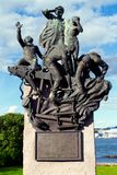 Maritime World War II Memorial in Oslo Royalty Free Stock Photo