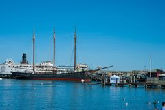 Maritimer nationaler historischer Park Stockfotografie