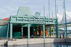 Maritimes erfahrungsmäßiges Museum u. Aquarium Stockbilder