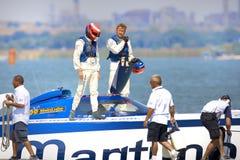 maritimo łódkowata drużyna Zdjęcie Royalty Free