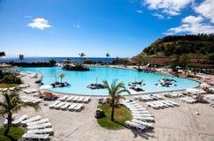 Maritimo Cesar  park in Santa Cruz. Tenerife Royalty Free Stock Photography