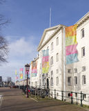 Maritimt museum amsterdam royaltyfri bild