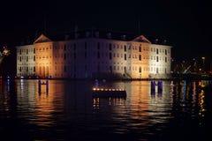 Maritimt museum amsterdam royaltyfri fotografi