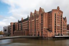 Maritimt museum av Hamburg royaltyfri bild