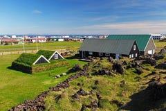 Maritimt museum Hellissandur fotografering för bildbyråer