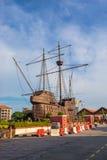 Maritimt museum i den Malacca staden, Malaysia royaltyfri fotografi