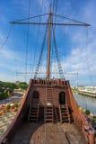 Maritimt museum i den Malacca staden, Malaysia arkivfoto