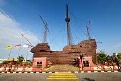 Maritimt museum (Malaysia) royaltyfri fotografi