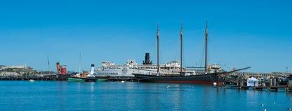 Maritimt nationellt historiskt parkerar arkivfoto