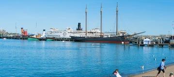 Maritimt nationellt historiskt parkerar royaltyfria bilder
