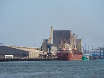 Maritimt nav för Belfast hamn i Belfast fotografering för bildbyråer