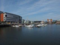 Maritimt nav för Belfast hamn i Belfast arkivfoton