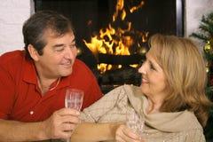Marito e moglie romantici fotografie stock