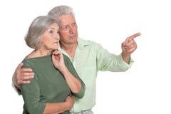 Marito e moglie senior fotografie stock libere da diritti