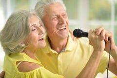 Marito e moglie senior delle coppie immagini stock