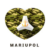 Mariupol concept Royalty Free Stock Photos