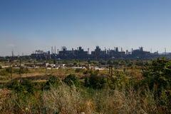 MARIUPOL, DE OEKRAÏNE - SEPTEMBER 5, 2016: Van het Azovstalijzer en Staal de Werken Stock Fotografie