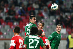 FC Dinamo Bucharest- FC Concordia Chiajna Royalty Free Stock Image