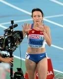 Mariya Savinova of Russia Royalty Free Stock Photos