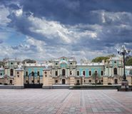 The Mariyinsky Palace in Kyiv stock photography