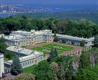 Mariyinsky Palace top view Stock Photos