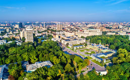 Mariyinsky Palace, Verkhovna Rada and Government Building in the Governmental District of Kiev, Ukraine. Mariyinsky Palace, Verkhovna Rada and Government Royalty Free Stock Photo