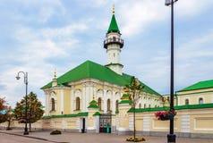 Marjani清真寺在喀山 库存照片