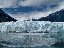 Marjorie Glacier. Image of Marjorie glacier looking very blue Stock Photos