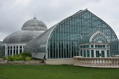Marjorie McNeely Conservatory in St Paul, Minnesota. Marjorie McNeely Conservatory at Como Park in St Paul, Minnesota Stock Photo