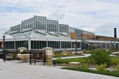 Marjorie McNeely Conservatory i St Paul, Minnesota Royaltyfri Fotografi