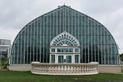 Marjorie McNeely Conservatory i St Paul, Minnesota Royaltyfria Foton
