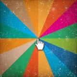 Markör på abstrakt bakgrund Royaltyfri Foto