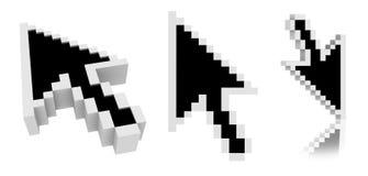 markörmus vektor illustrationer