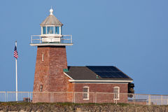 Mark Abbott Memorial Lighthouse in Santa Cruz California royalty-vrije stock foto