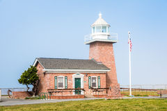 Mark Abbott Memorial Lighthouse in Santa Cruz California Royalty Free Stock Images