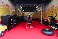 Mark Aitchison #8 auf Ducati 1098R Team Effenbert Liberty Racing Superbike WSBK Stockfotografie