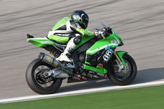Mark Aitchison Kawasaki ZX-10R Pedercini Royalty Free Stock Photo