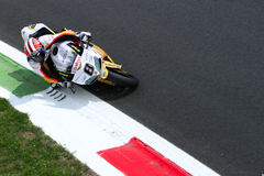 Mark Aitchison #8 su Ducati 1098R Team Effenbert Liberty Racing Superbike WSBK fotografie stock