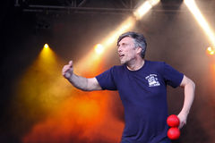 Mark Berry (Bez) of Happy Mondays Stock Image