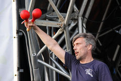 Mark Berry (Bez) of Happy Mondays Royalty Free Stock Image