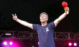 Mark Berry (Bez) of Happy Mondays Royalty Free Stock Photos