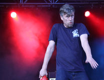 Mark Berry (Bez) of Happy Mondays Royalty Free Stock Images