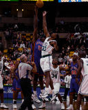 Mark Blount, κέντρο Boston Celtics Στοκ εικόνα με δικαίωμα ελεύθερης χρήσης
