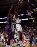 Mark Blount, Celtics de Boston Imagenes de archivo