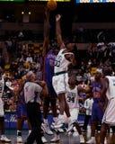 Mark Blount, Mittel-Boston-Celtics Lizenzfreies Stockbild