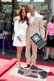 Mark Burnett, Roma Downey stockfotos